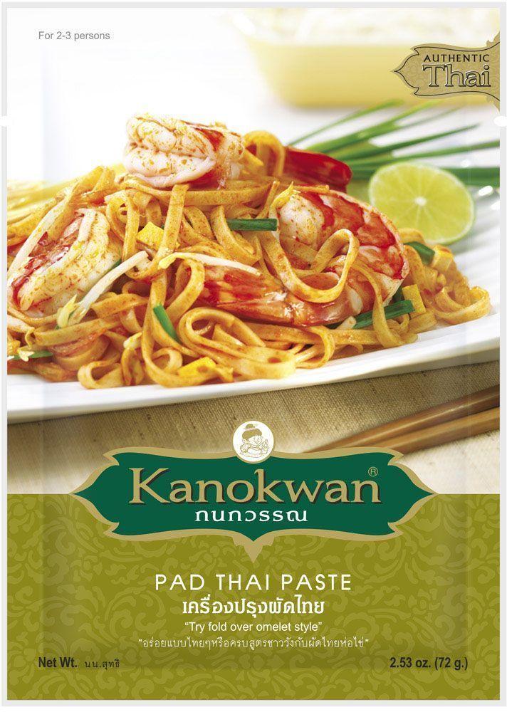 Kanokwan Соус для лапши Пад Тай, 50 гKW0006003Используется для приготовления одного из наиболее известных блюд тайской кухни - лапши пад тхай (пхат тхай). Также идеально подходит к любым блюдам, приготовленным на сковороде вок, к салатам и острым омлетам, которые обязательно подают во всех ресторанах тайской и малайской кухни. Степень остроты: неострая.