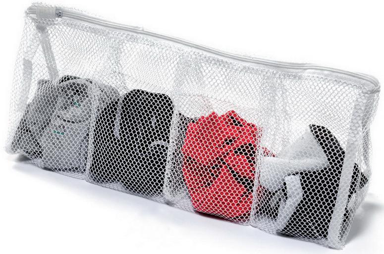 Мешок для стирки Marbet, с разделителями , 43 х 17 см18Идеально подходит для стирки и отдельного хранения личного белья (колготки, носки, носовые платки и т.п.)