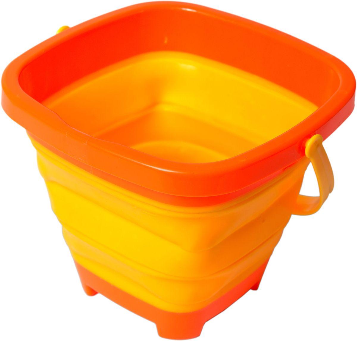 Fresh-Trend Игрушка для песочницы Ведро складное цвет желтый