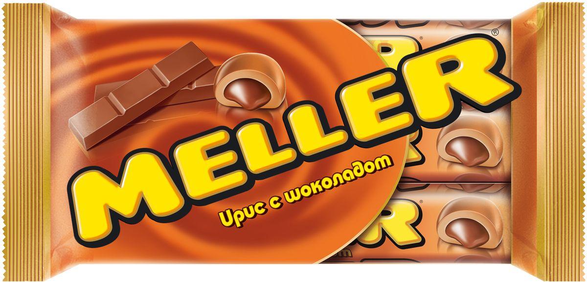 Meller ирис с шоколадом, 3 шт по 38 г