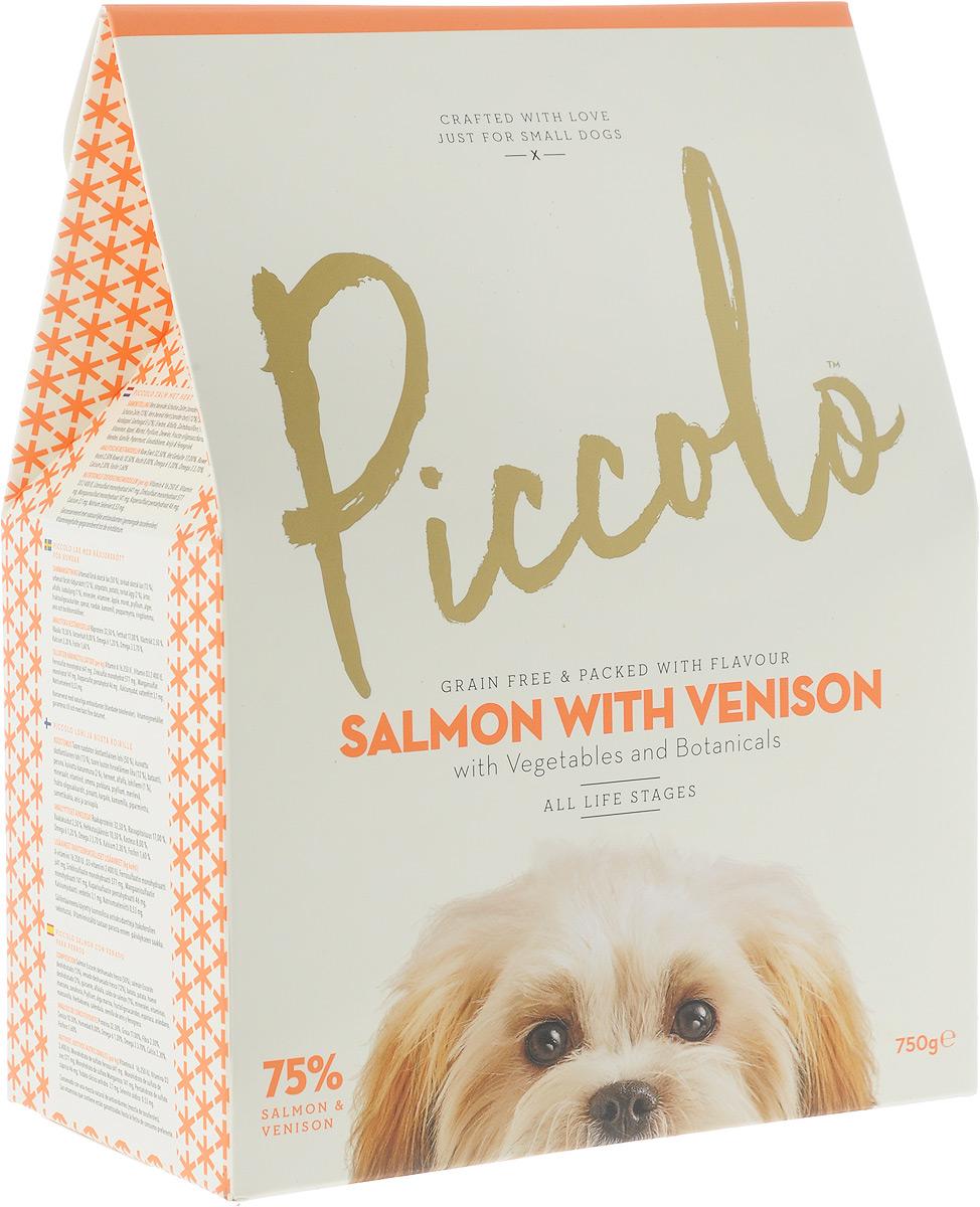Корм сухой Piccolo GF, для собак мелких пород, с лососем и олениной, 750 г100.304Сухой корм Piccolo GF для каждодневного питания взрослых собак мелких и карликовых пород (от двух месяцев). Содержание лосося и оленины обеспечивают более высокий уровень протеина, который требуется вашей маленькой собаке. Piccolo содержит большое количество мяса и рыбы, удовлетворяя изысканные потребности в еде вашего малыша. Состав: свежее бескостное филе Шотландского лосося (50%), мука из мяса Шотландского лосося (13%), свежее бескостное мясо оленины (12%), батат, картофель, дегидратированное яйцо (2%), горох, люцерна, лососёвый бульон (1%), минералы, витамины, яблоко, морковь, семена подорожника, водоросли, фруктоолигосахариды, шпинат, клюква, ромашка, мята, календула, семена аниса и пажитника. Анализ состава: сырой протеин 32,5%, жиры 19%, сырая клетчатка 2,5%, сырая зола 10,5%, влажность 8%, омега 6 2,2%, омега 3 3,7%, кальций 2,3%, фосфор 1,6%. Питательные добавки (на кг): витамин А 16 250 МЕ, витамин D3 2 400 МЕ, моногидрат сульфата железа 641 мг,...