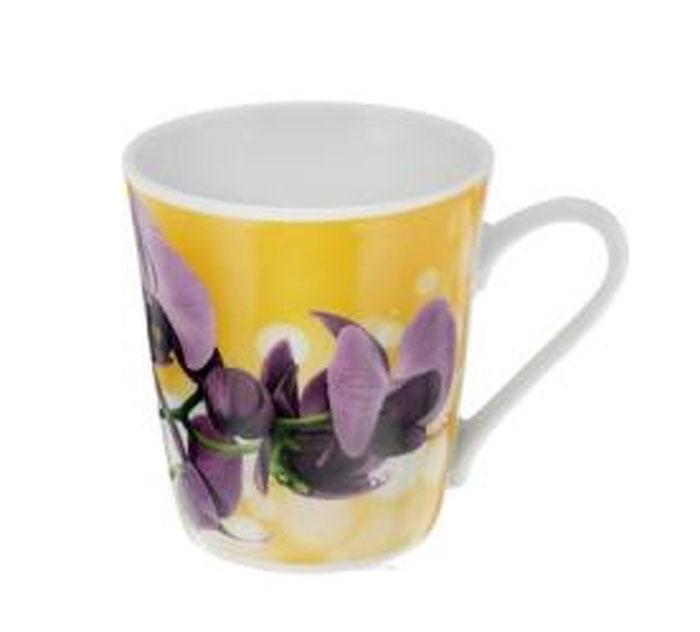Кружка Классик. Орхидея, цвет: желтый, фиолетовый, 300 мл3С0493_желтый, фиолетовыйКружка Классик. Орхидея изготовлена из высококачественного фарфора. Изделие оформлено красочным цветочным рисунком и покрыто превосходной глазурью. Изысканная кружка прекрасно оформит стол к чаепитию и станет его неизменным атрибутом. Диаметр кружки (по верхнему краю): 8,5 см. Высота стенок: 9,5 см.