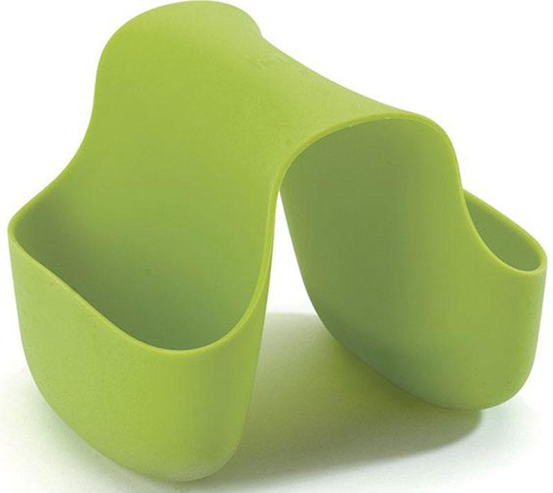 Подставка для кухонных принадлежностей Umbra Saddle, цвет: зеленый, 10,2 х 12,7 х 10,2 см330210-806Гибкий органайзер с двумя кармашками в новом модном цвете. В нем может поместиться что угодно: губки и щётки для мытья посуды, диспенсеры с моющими средствами и прочие небольшие предметы на кухне или в ванной. Не содержит BPA. Можно мыть в посудомоечной машине. Сочетается с другими аксессуарами для кухни в новой цветовой палитре: диспенсером Joey и сушилкой Tub. Дизайнер Ross & Doell