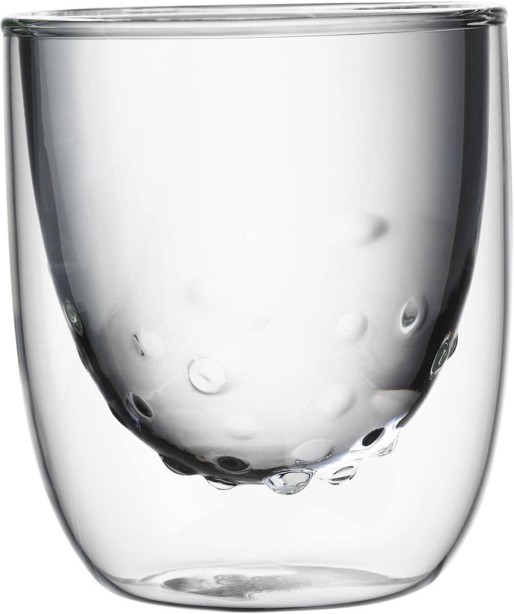 Набор стаканов QDO Elements Water, 210 мл, 2 шт567113Набор Elements - это стаканы с двойными стенками и оригинальным дизайном, изображающим главные элементы природы. Выполнен из боросиликатного стекла, устойчивого к перепадам температур. Каждый стакан состоит из двух форм: классическая внешняя позволит держать емкость с горячим содержимым в руке без риска обжечься, а модифицированная внутренняя придаст вашим напиткам необычный вид. Стаканы станут идеальным украшением барной стойки, вечеринки или просто домашней коллекции. Объем - 210 мл. Можно мыть в посудомоечной машине.