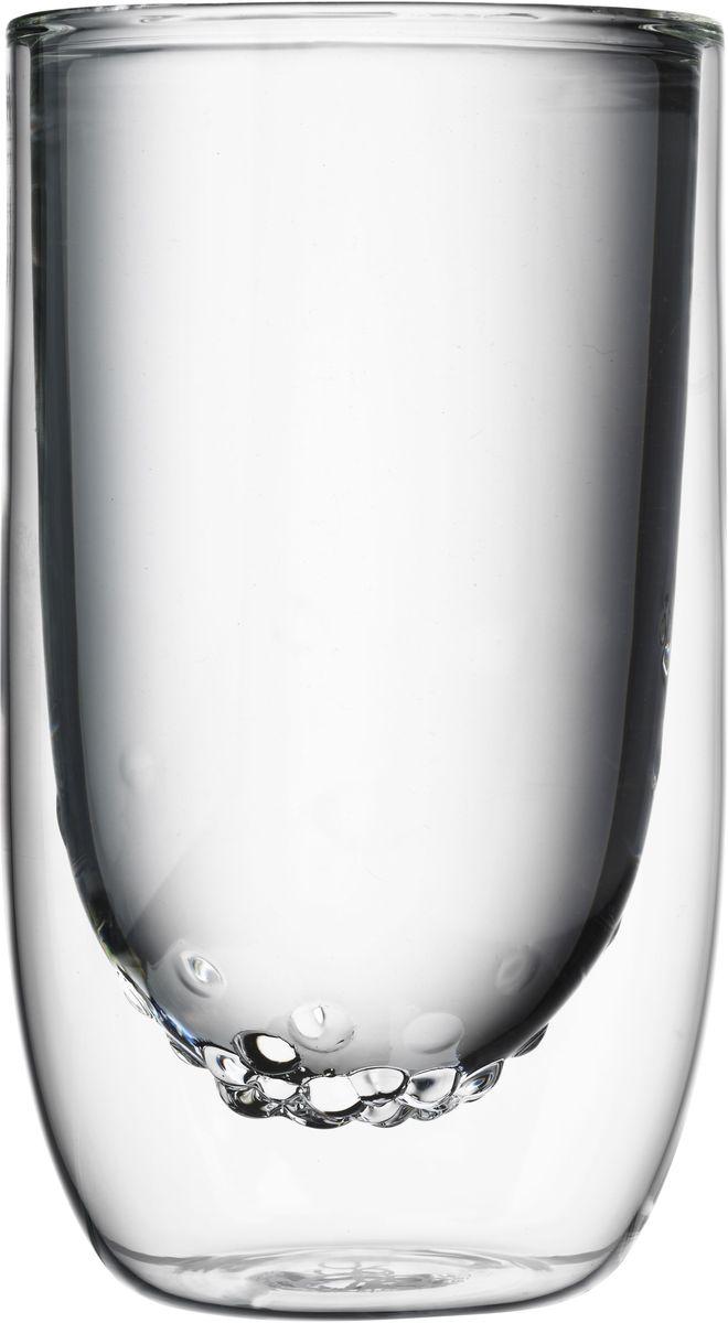 Набор стаканов QDO Elements Water, 350 мл, 2 шт567298Набор Elements - это стаканы с двойными стенками и оригинальным дизайном, изображающим главные элементы природы. Выполнен из боросиликатного стекла, устойчивого к перепадам температур. Каждый стакан состоит из двух форм: классическая внешняя позволит держать емкость с горячим содержимым в руке без риска обжечься, а модифицированная внутренняя придаст вашим напиткам необычный вид. Стаканы станут идеальным украшением барной стойки, вечеринки или просто домашней коллекции. Объем - 350 мл. Можно мыть в посудомоечной машине.