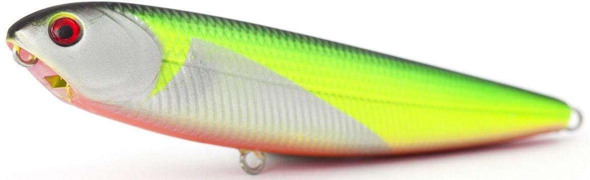 Воблер плавающий Atemi Sugar Pencil, цвет: Silver Chart, длина 10 см, вес 10 г513-00012Воблер ATEMI Sugar Pencil, Silver Chart, плавающий, 10 см является наилучшей приманкой как для троллинга, так и для ловли в заброс. Он также хорошо работает при ловле рыбы против течения. Проводите Воблер ATEMI Sugar Pencil, Silver Chart по более глубоким местам, в местах сбора кормовой базы хищних рыб. Во время максимальной активности рыб, лучше брать ярко окрашенную приманку, которая будет выделяться в толще воды и сразу бросится хищнику в глаза. Если у хищника плохой аппетит, то расцветка должна быть максимально близкой к расцветке кормовой рыбы. арт. 513-00012 Воблер ATEMI Sugar Pencil цвет Silver Chart размер: 10 см вес 10 г Материал:пластиктип плавающий Производитель: Атеми Рекомендуется для ловли – щуки, окуня, форели, басса, язя, голавля, желтоперого судака, жереха.