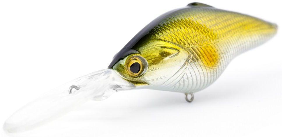 Воблер плавающий Atemi Power Crank, цвет: Gold Black, длина 6,5 см, вес 14,5 г, заглубление 3,5 м513-00034Воблер ATEMI Power Crank, Gold Black, 6,5 см Воблер ATEMI Power Crank, Gold Black, 6,5 см отлично подходит для ловли крупных особей хищных пород рыб. Его крупный размер позволяет привлеч рыб на растоянии до нескольких метров. Тип приманки - плавающая.Приманки такого типа просто предмет первой необходимости для рыбалки на пресных водоемах. Сделайте себе подарок и преобретите эту замечательную приманку Воблер ATEMI Power Crank, Gold Black, 6,5 см для ловли трофейных экземпляров рыб хищных пород. арт. 513-00034 Воблер ATEMI Power Crank цвет Gold Black размер: 6,5см вес 14,5 г, заглубление: 3,5 м Производитель: Атеми Рекомендуется для ловли – щуки, окуня, форели, басса, язя, голавля, желтоперого судака, жереха.