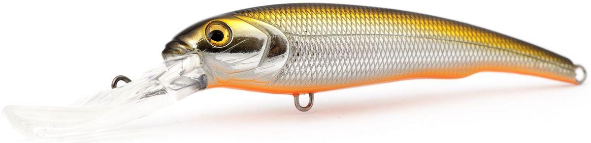 Воблер плавающий Atemi Predator special, цвет: Gold Shad, длина 15 см, вес 47 г, заглубление 9 м513-00062Воблер ATEMI Predator special, Gold Shad, плавающий, 15 см специально создан для ловли хищных рыб в весенне-летний период. Идеально подходит в качестве приманки для щуки и сома, для ловли которых необходимо брать наживку большого размера примерно от 12 см летом. Чем глубже водоем, тем более увесистая наживка вам потребуется. Заглубление приманки ATEMI Predator special, Gold Shad - 9 м, а вес - 47 г, что делает ее прекрасным выбором для рыбалки на глубоких водоемах. арт. 513-00062 Воблер ATEMI Predator special (плавающий) цвет Gold Shad размер: 15см вес 47 г, заглубление: 9 м Производитель: Атеми Рекомендуется для ловли – щуки, окуня, форели, басса, язя, голавля, желтоперого судака, жереха.