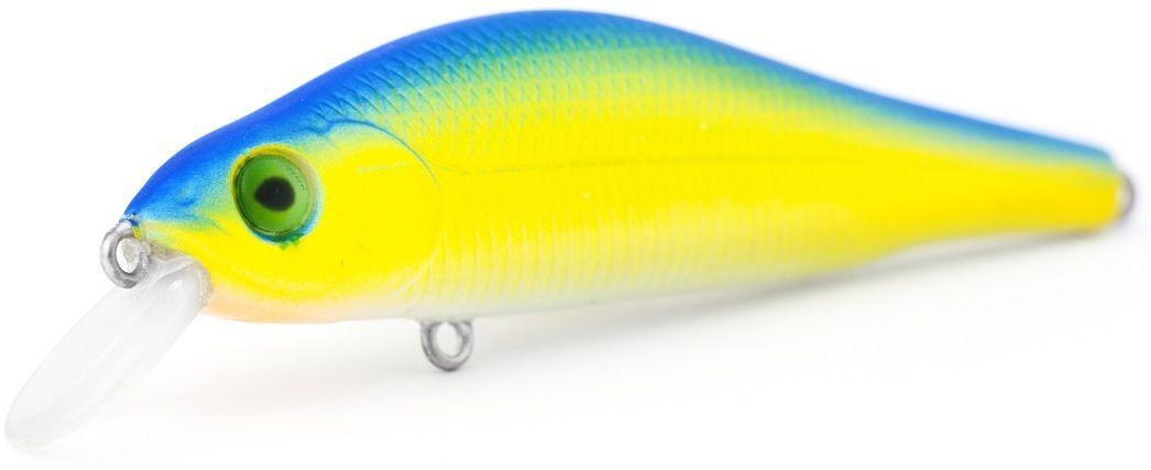 Воблер плавающий AtemiFaith, цвет: Chart Blue, длина 8 см, вес 9,2 г, заглубление 1 м513-00093Воблер ATEMI Faith, Chart Blue артикул: 513-00093 Производитель: Атеми Материал: пластик. Расцветка: Chart Blue Длина: 80 мм. Вес: 9.2 г. Заглубление: 1 м. Габариты: 90x17x11 мм Страна производителя: Китай Эта приманка превосходна для ловли рыбы, если ее забрасывать вверх по течению, только обеспечивайте скорость проводки немного быстрее, чем скорость течения. Рекомендуется для ловли – щуки, окуня, форели, басса, язя, голавля, желтоперого судака, жереха. Она также хорошо работает при ловле рыбы против течения, проводите приманку по более глубоким местам, там, где чаще стоят в засаде более крупные экземпляры. Воблер Atemi Faith плавающий.
