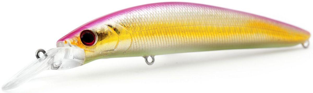 Воблер плавающий Atemi Dinamic, цвет: Pink Shad, длина 12,5 см, вес 24 г, заглубление 1,7 м513-00110Воблер ATEMI Dinamic, Pink Shad артикул: 513-00110 Производитель: Атеми Материал: пластик. Расцветка: Pink Shad Длина: 125 мм. Вес: 24 г. Заглубление: 1,7 м. Воблер Atemi ATEMI Dinamic, Pink Shad плавающий. Эта приманка превосходна для ловли рыбы, если ее забрасывать вверх по течению, только обеспечивайте скорость проводки немного быстрее, чем скорость течения. Она также хорошо работает при ловле рыбы против течения, проводите приманку по более глубоким местам, там, где чаще стоят в засаде более крупные экземпляры. Для озер и водохранилищ, Dinamic является наилучшей приманкой как для троллинга, так и для ловли в заброс.