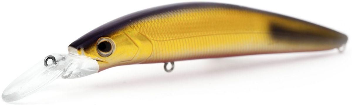 Воблер плавающий Atemi Dinamic, цвет: Gold Black Tip, длина 12,5 см, вес 24 г, заглубление 1,7 м513-00111Воблер ATEMI Dinamic, Gold Black Tip 24гр артикул: 513-00111 Производитель: Атеми Материал: пластик. Расцветка: Gold Black Tip Длина: 125 мм. Вес: 24 г. Заглубление: 1,7 м. Воблер Atemi ATEMI Dinamic, Gold Black Tip 24гр плавающий. Эта приманка превосходна для ловли рыбы, если ее забрасывать вверх по течению, только обеспечивайте скорость проводки немного быстрее, чем скорость течения. Она также хорошо работает при ловле рыбы против течения, проводите приманку по более глубоким местам, там, где чаще стоят в засаде более крупные экземпляры. Для озер и водохранилищ, Dinamic является наилучшей приманкой как для троллинга, так и для ловли в заброс.