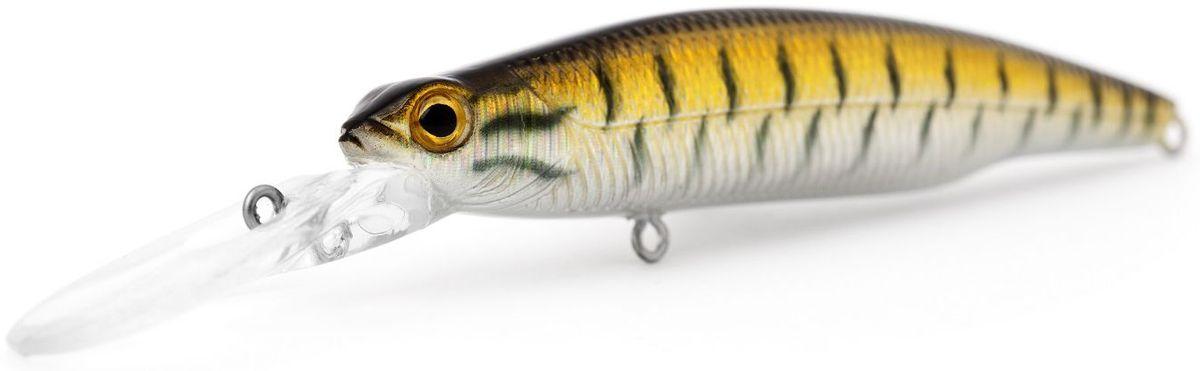Воблер плавающий Atemi Deep Run, цвет: Snakehead, длина 9 см, вес 10,6 г, заглубление 2 м513-00117Воблер Atemi Deep Run плавающий. Рекомендуется для ловли – щуки, окуня, форели, басса, язя, голавля, желтоперого судака, жереха. Эта приманка превосходна для ловли рыбы, если ее забрасывать вверх по течению, только обеспечивайте скорость проводки немного быстрее, чем скорость течения. Цвет : Длина : 90 мм Вес : 10,6 г Материал : Пластик Рабочая глубина : 2 м