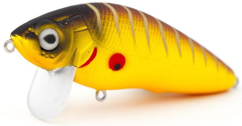 Воблер плавающий Atemi Black Widow Zero, цвет: Mat Tiger, длина 6 см, вес 8,5 г513-00120Воблер Atemi Black Widow Zero плавающий. Рекомендуется для ловли – щуки, окуня, форели, басса, язя, голавля, желтоперого судака, жереха.