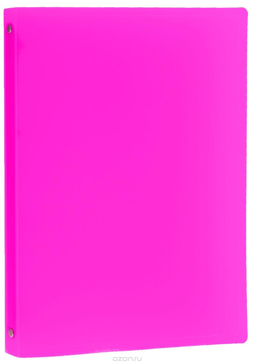 Erich Krause Папка-файл на 4 кольцах цвет розовый31014_розовыйПапка-файл Erich Krause на четырех кольцах предназначена для хранения и транспортировки бумаг или документов формата А4. Папка изготовлена из плотного пластика. Кольцевой механизм выполнен из высококачественного металла. Папка практична в использовании и надежно сохранит ваши документы и сбережет их от повреждений, пыли и влаги.