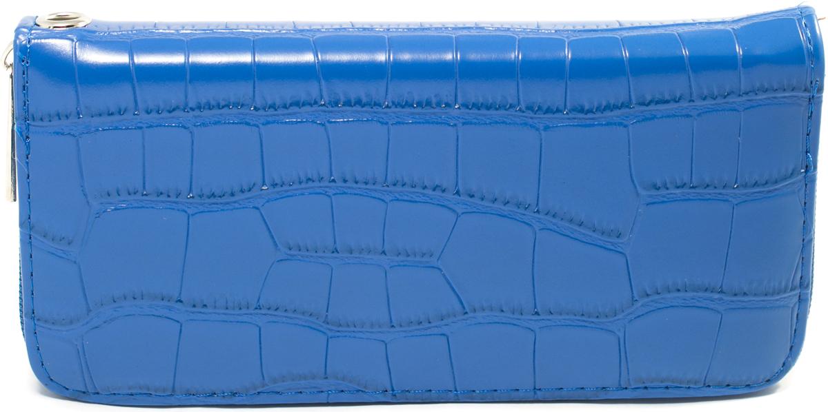Кошелек женский Mitya Veselkov, цвет: синий. K4-BLUK4-BLU