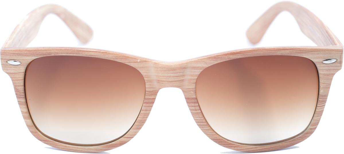 Очки солнцезащитные Mitya Veselkov, цвет: бежевый. OS-136OS-136Прекрасные антибликовые очки Mitya Veselkov, станут прекрасным и стильным аксессуаром для вас и защитят от УФ лучей. Они помогут глазу более четко распознать картинку, засвеченную солнечными лучами, при этом скорректируют все возникшие искажения.