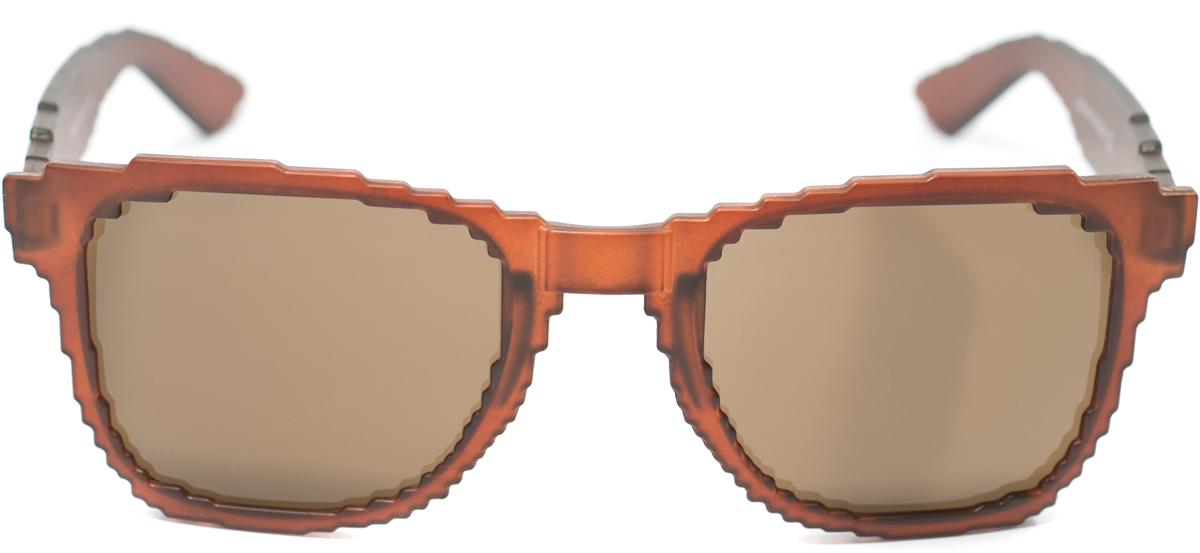 Очки солнцезащитные Mitya Veselkov, цвет: коричневый. OS-185OS-185Прекрасные антибликовые очки Mitya Veselkov, станут прекрасным и стильным аксессуаром для вас и защитят от УФ лучей. Они помогут глазу более четко распознать картинку, засвеченную солнечными лучами, при этом скорректируют все возникшие искажения.