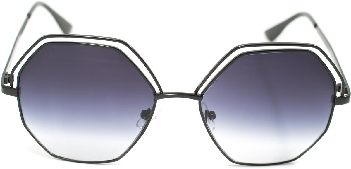 Очки солнцезащитные Mitya Veselkov, цвет: черный. OS-132OS-132Прекрасные антибликовые очки Mitya Veselkov, станут прекрасным и стильным аксессуаром для вас и защитят от УФ лучей. Они помогут глазу более четко распознать картинку, засвеченную солнечными лучами, при этом скорректируют все возникшие искажения.
