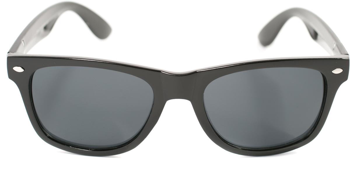 Очки солнцезащитные Mitya Veselkov, цвет: черный. OS-183OS-183Прекрасные антибликовые очки Mitya Veselkov, станут прекрасным и стильным аксессуаром для вас и защитят от УФ лучей. Они помогут глазу более четко распознать картинку, засвеченную солнечными лучами, при этом скорректируют все возникшие искажения.