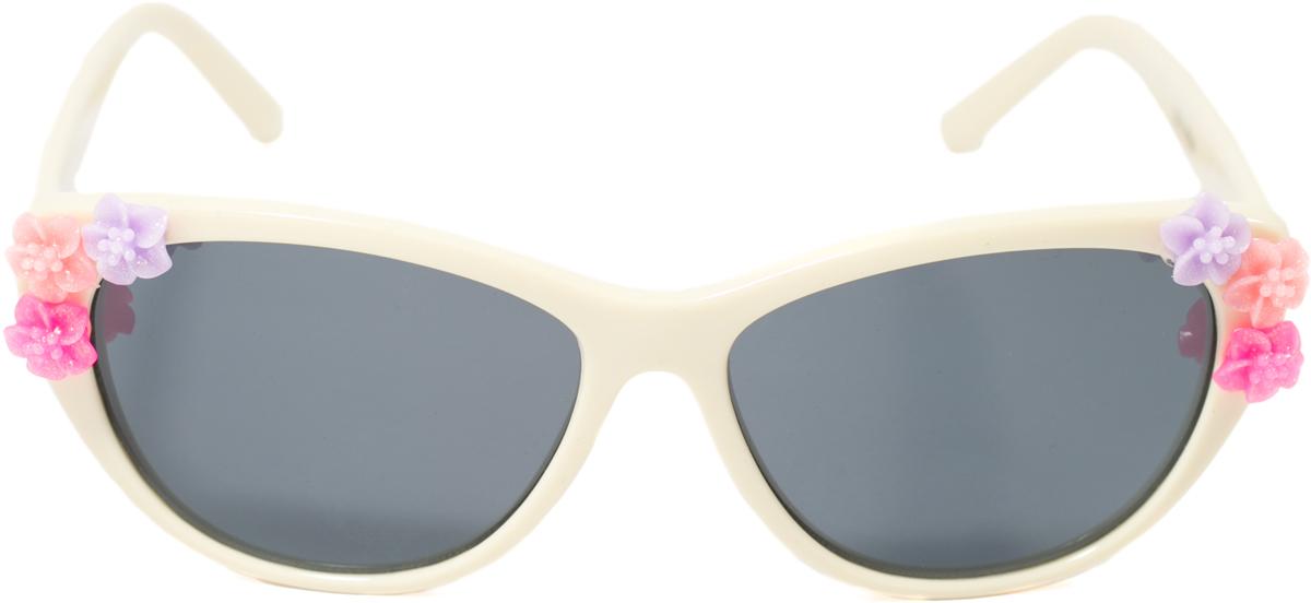 Очки солнцезащитные детские Mitya Veselkov, цвет: белый. OS-197OS-197Прекрасные антибликовые очки Mitya Veselkov, станут прекрасным и стильным аксессуаром для вашего ребенка и защитят его от УФ лучей. Они помогут глазу более четко распознать картинку, засвеченную солнечными лучами, при этом скорректируют все возникшие искажения.