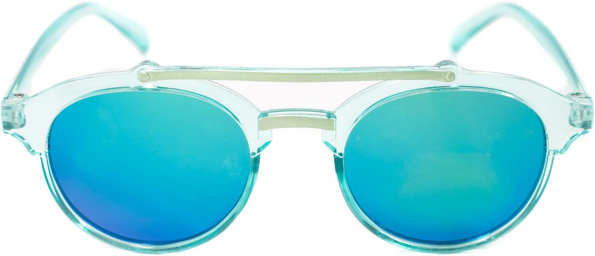 Очки солнцезащитные детские Mitya Veselkov, цвет: голубой. OS-209OS-209Прекрасные антибликовые очки Mitya Veselkov, станут прекрасным и стильным аксессуаром для вашего ребенка и защитят его от УФ лучей. Они помогут глазу более четко распознать картинку, засвеченную солнечными лучами, при этом скорректируют все возникшие искажения.