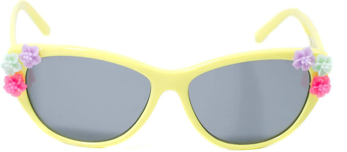 Очки солнцезащитные детские Mitya Veselkov, цвет: желтый. OS-203OS-203Прекрасные антибликовые очки Mitya Veselkov, станут прекрасным и стильным аксессуаром для вашего ребенка и защитят его от УФ лучей. Они помогут глазу более четко распознать картинку, засвеченную солнечными лучами, при этом скорректируют все возникшие искажения.