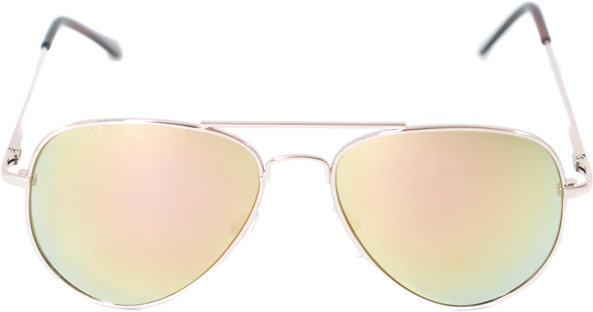 Очки солнцезащитные детские Mitya Veselkov, цвет: золотистый. OS-212OS-212Прекрасные антибликовые очки Mitya Veselkov, станут прекрасным и стильным аксессуаром для вашего ребенка и защитят его от УФ лучей. Они помогут глазу более четко распознать картинку, засвеченную солнечными лучами, при этом скорректируют все возникшие искажения.