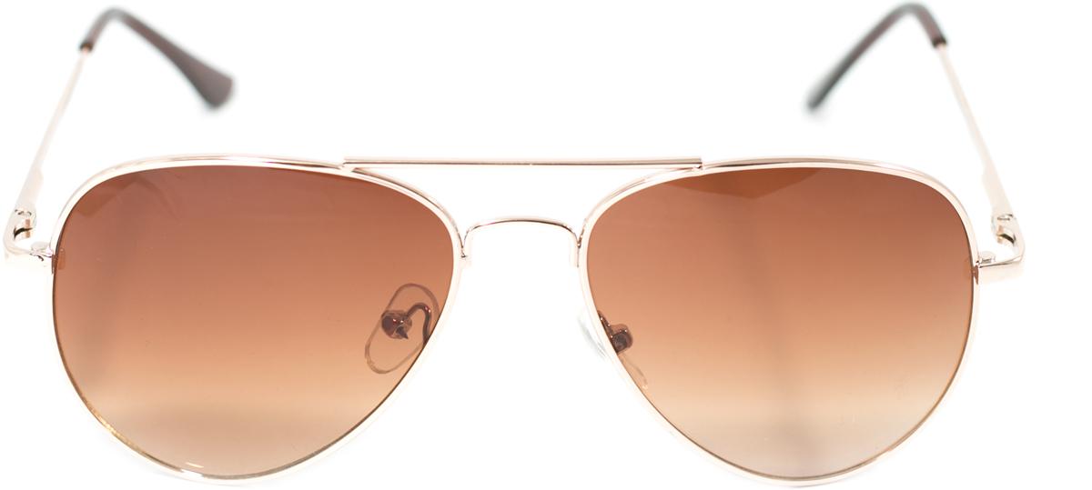Очки солнцезащитные детские Mitya Veselkov, цвет: золотистый. OS-213OS-213Прекрасные антибликовые очки Mitya Veselkov, станут прекрасным и стильным аксессуаром для вашего ребенка и защитят его от УФ лучей. Они помогут глазу более четко распознать картинку, засвеченную солнечными лучами, при этом скорректируют все возникшие искажения.