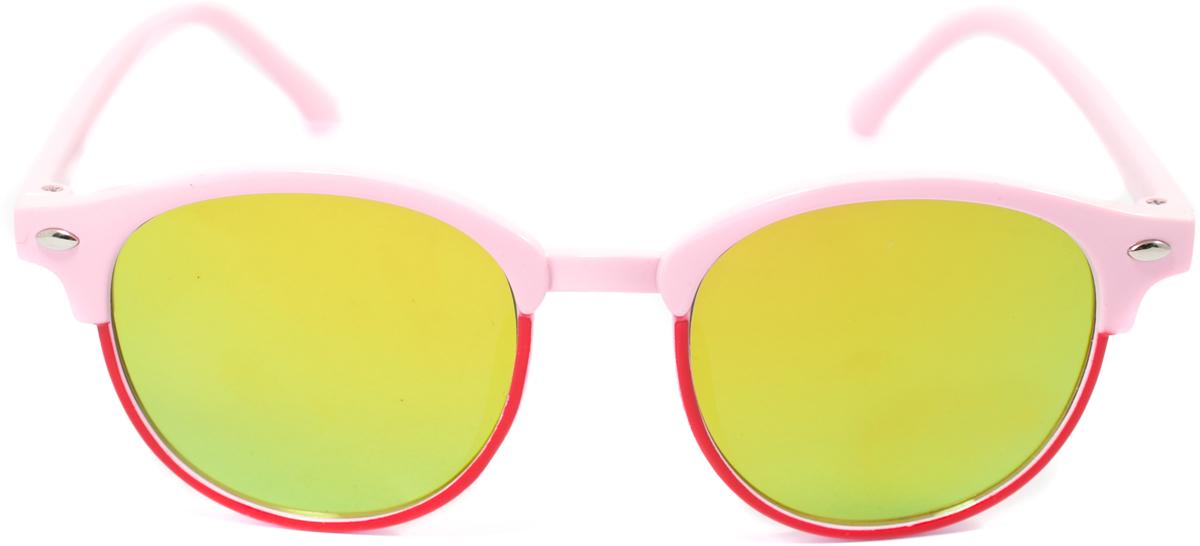 Очки солнцезащитные детские Mitya Veselkov, цвет: красный, розовый. OS-189OS-189Прекрасные антибликовые очки Mitya Veselkov, станут прекрасным и стильным аксессуаром для вашего ребенка и защитят его от УФ лучей. Они помогут глазу более четко распознать картинку, засвеченную солнечными лучами, при этом скорректируют все возникшие искажения.