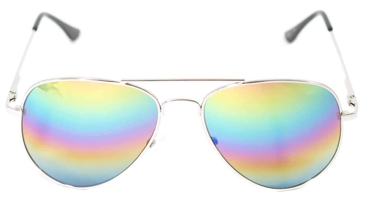 Очки солнцезащитные детские Mitya Veselkov, цвет: серебристый. OS-215OS-215Прекрасные антибликовые очки Mitya Veselkov, станут прекрасным и стильным аксессуаром для вашего ребенка и защитят его от УФ лучей. Они помогут глазу более четко распознать картинку, засвеченную солнечными лучами, при этом скорректируют все возникшие искажения.