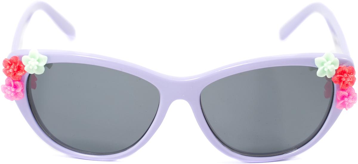 Очки солнцезащитные детские Mitya Veselkov, цвет: фиолетовый. OS-199OS-199Прекрасные антибликовые очки Mitya Veselkov, станут прекрасным и стильным аксессуаром для вашего ребенка и защитят его от УФ лучей. Они помогут глазу более четко распознать картинку, засвеченную солнечными лучами, при этом скорректируют все возникшие искажения.