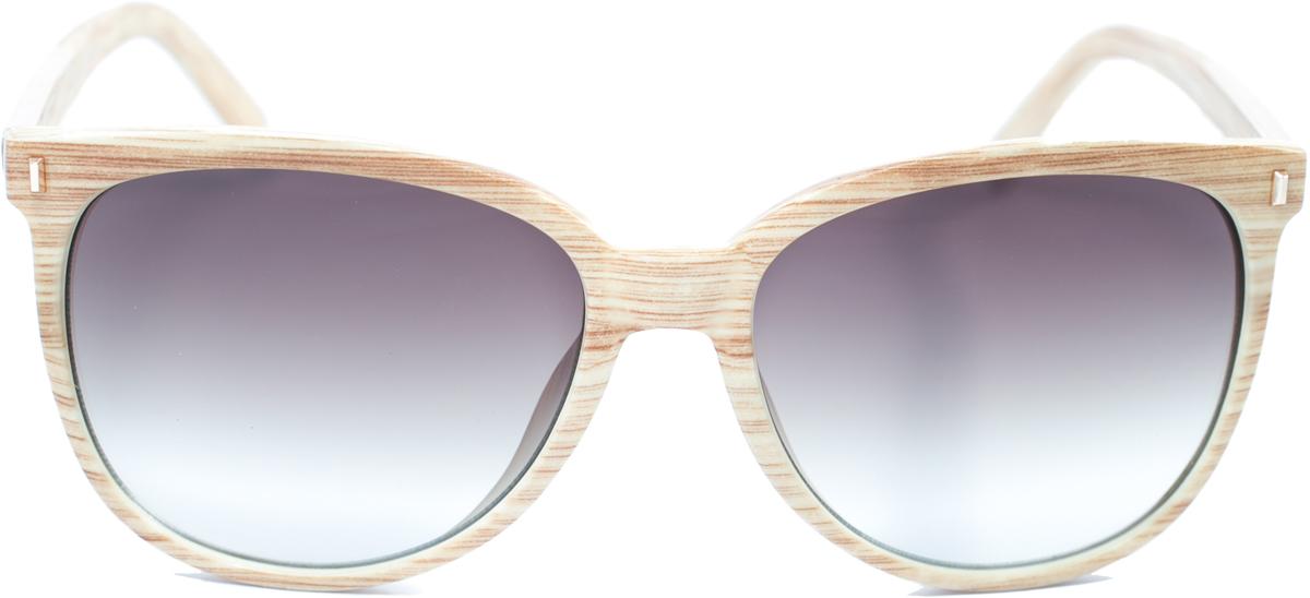 Очки солнцезащитные женские Mitya Veselkov, цвет: бежевый. OS-137OS-137Прекрасные антибликовые очки Mitya Veselkov, станут прекрасным и стильным аксессуаром для вас и защитят от УФ лучей. Они помогут глазу более четко распознать картинку, засвеченную солнечными лучами, при этом скорректируют все возникшие искажения.