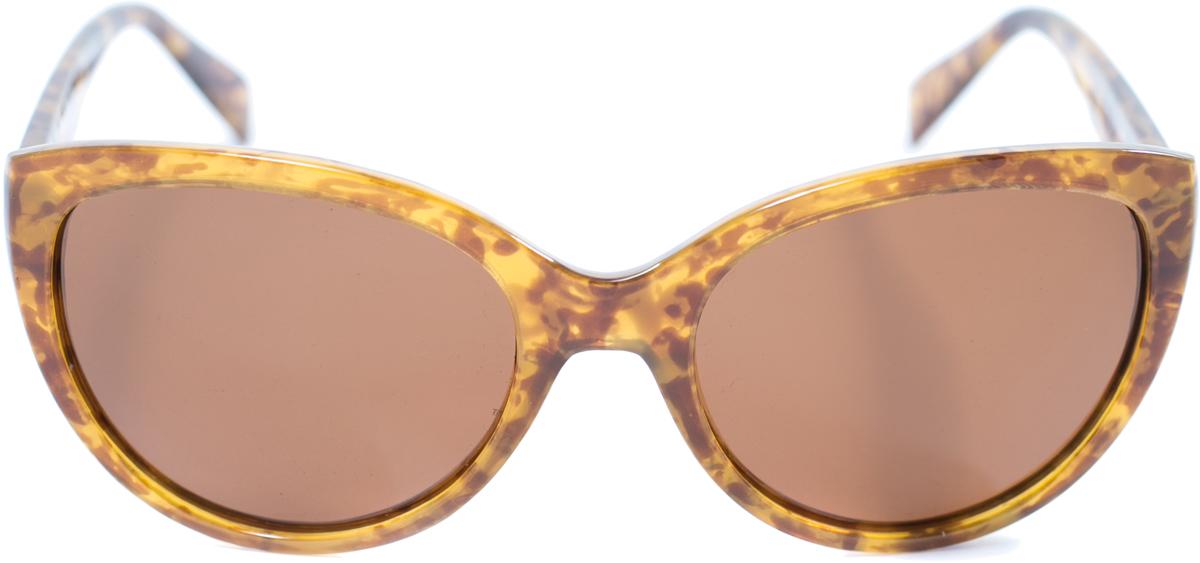 Очки солнцезащитные женские Mitya Veselkov, цвет: бежевый. OS-160OS-160Прекрасные антибликовые очки Mitya Veselkov, станут прекрасным и стильным аксессуаром для вас и защитят от УФ лучей. Они помогут глазу более четко распознать картинку, засвеченную солнечными лучами, при этом скорректируют все возникшие искажения.