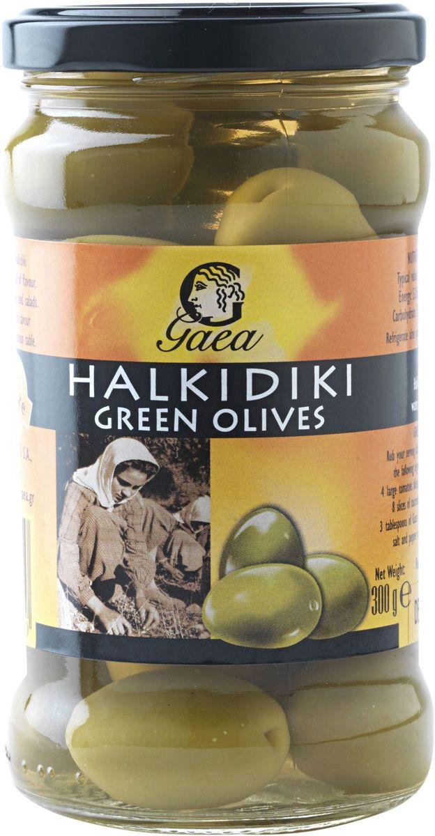 GAEA Оливки зеленые халкидики, 300 г0370031