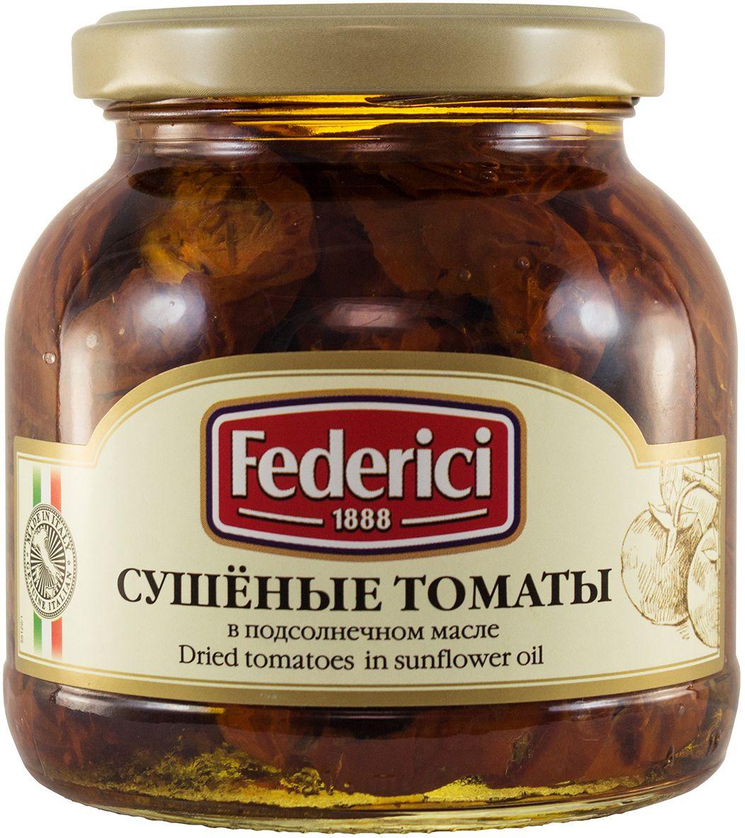 Federici Сушеные томаты в подсолнечном масле, 280 г0430054