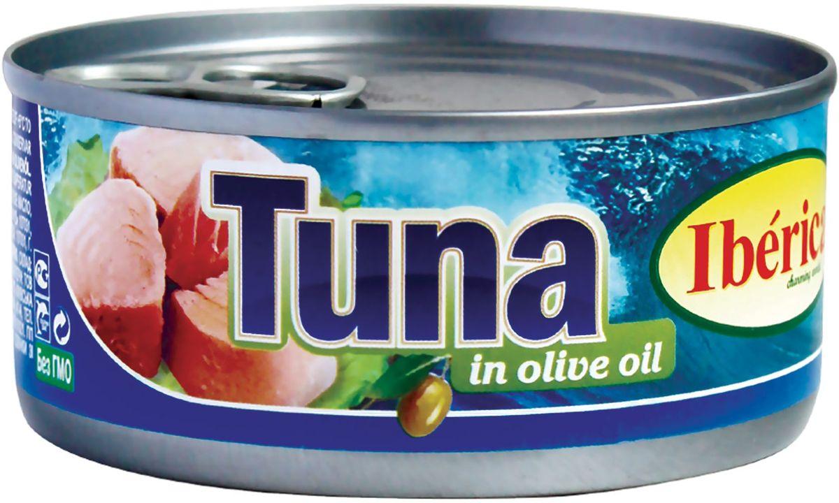 Iberica Тунец в оливковом масле, 160 г0740001