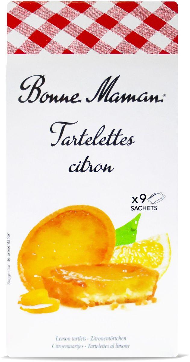 Bonne Maman Сдобное печенье с лимонной начинкой, 125 г 1530205