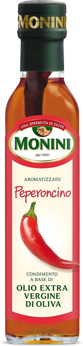 Monini масло оливковое Extra Virgin Красный острый перец, 250 мл1610018