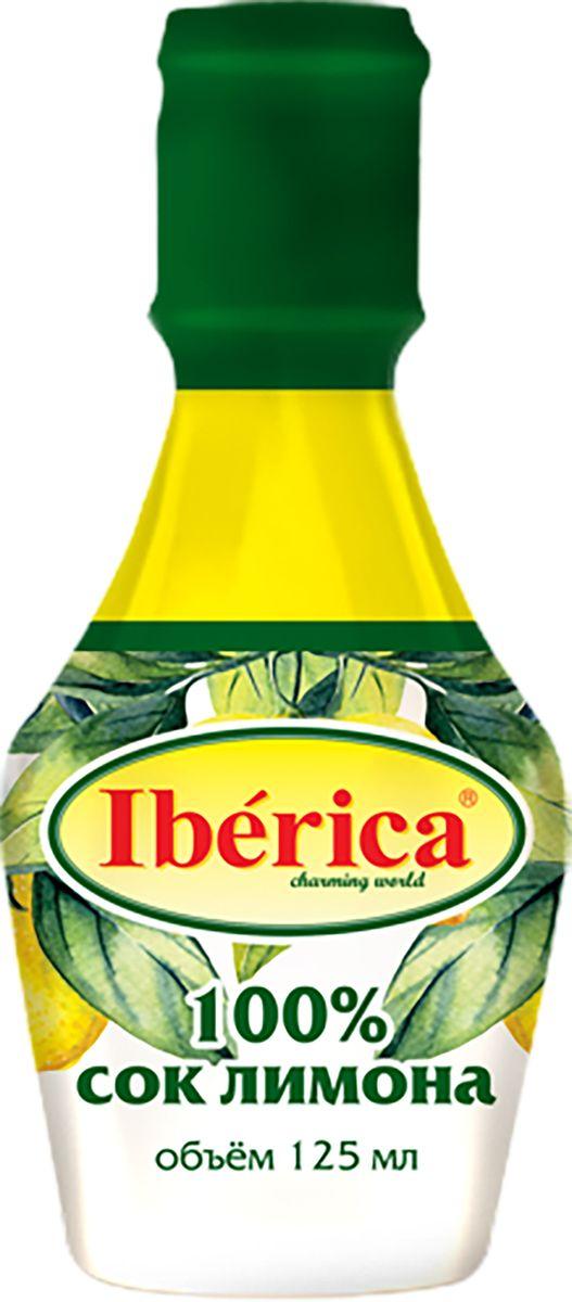 Iberica 100% Сок лимона прямого отжима, 125 мл 1650090