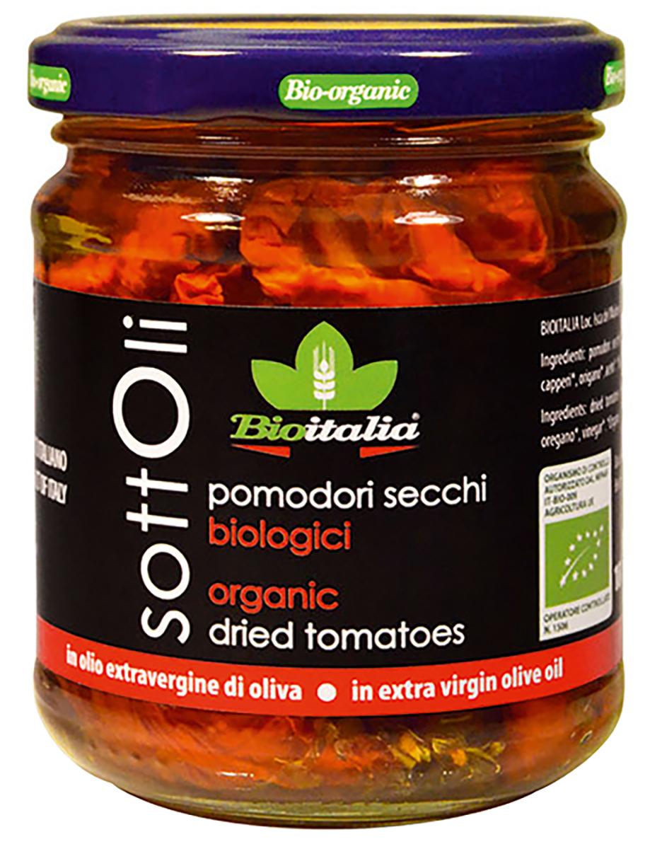 Bioitalia Томаты сушеные в оливковом масле 180 г1770006