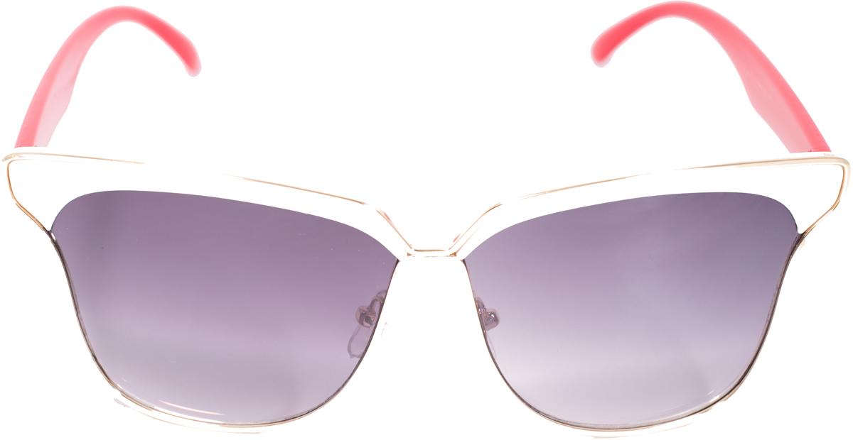 Очки солнцезащитные женские Mitya Veselkov, цвет: белый, красный. OS-224OS-224Прекрасные антибликовые очки Mitya Veselkov, станут прекрасным и стильным аксессуаром для вас и защитят от УФ лучей. Они помогут глазу более четко распознать картинку, засвеченную солнечными лучами, при этом скорректируют все возникшие искажения.