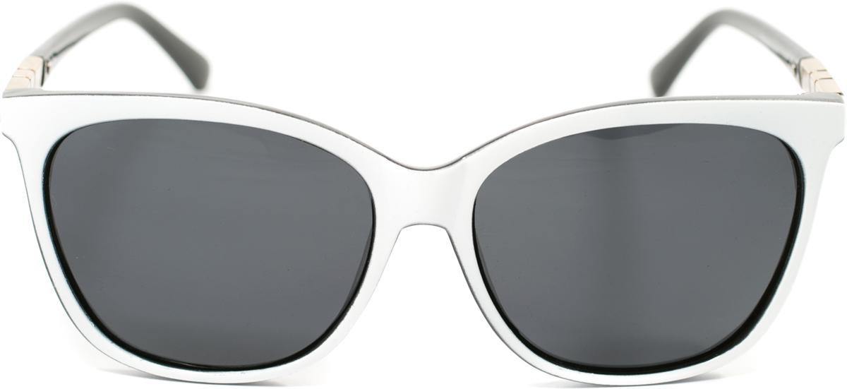Очки солнцезащитные женские Mitya Veselkov, цвет: белый. OS-175OS-175Прекрасные антибликовые очки Mitya Veselkov, станут прекрасным и стильным аксессуаром для вас и защитят от УФ лучей. Они помогут глазу более четко распознать картинку, засвеченную солнечными лучами, при этом скорректируют все возникшие искажения.