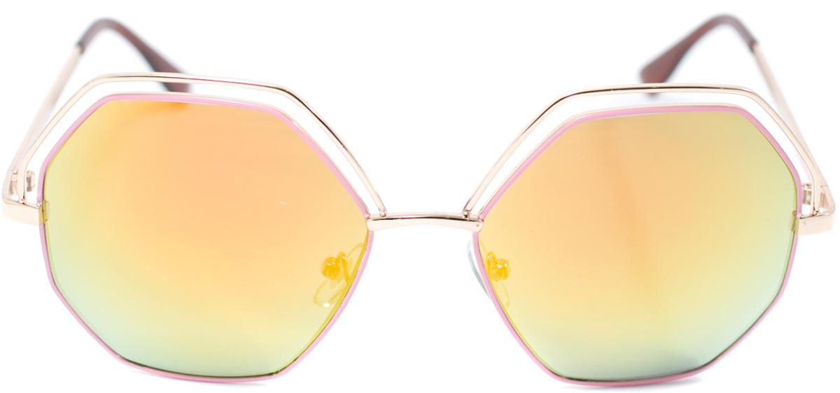 Очки солнцезащитные женские Mitya Veselkov, цвет: золотистый. OS-129OS-129