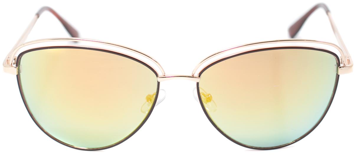 Очки солнцезащитные женские Mitya Veselkov, цвет: золотистый. OS-157OS-157