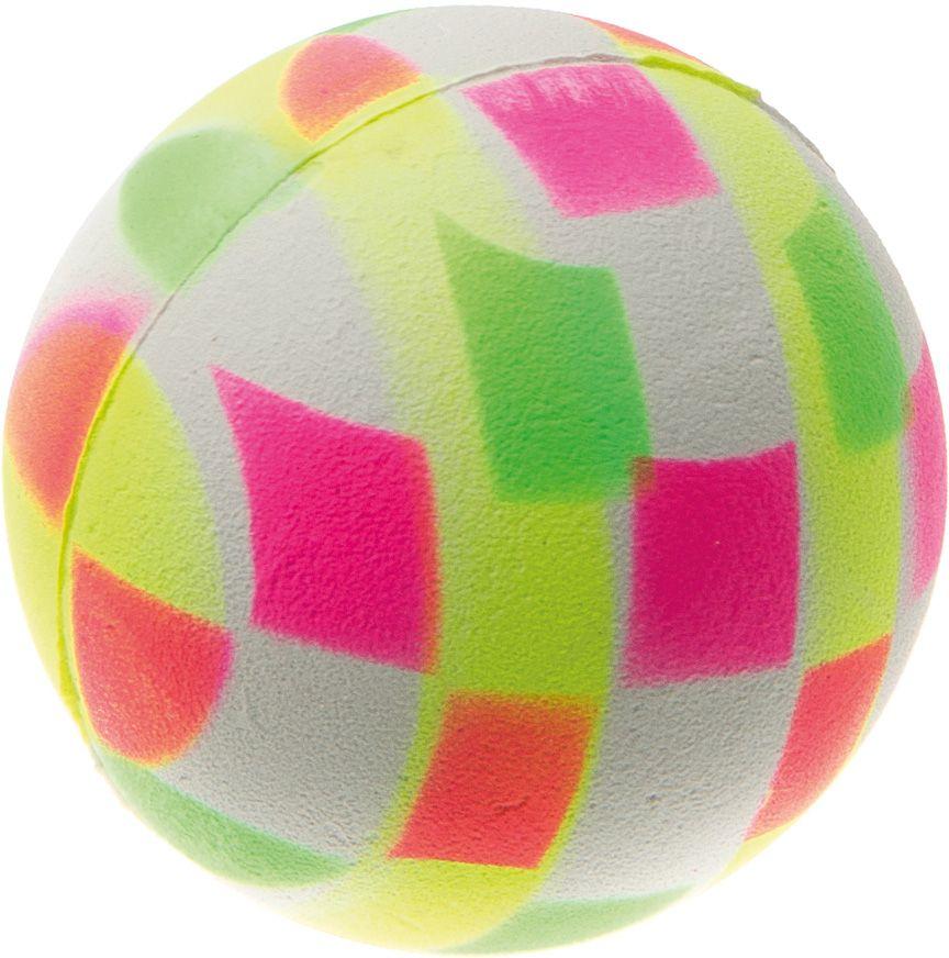Мяч V.I.Pet Неон, цвет: клетка мультиколор, 47 мм. 20-110420-1104
