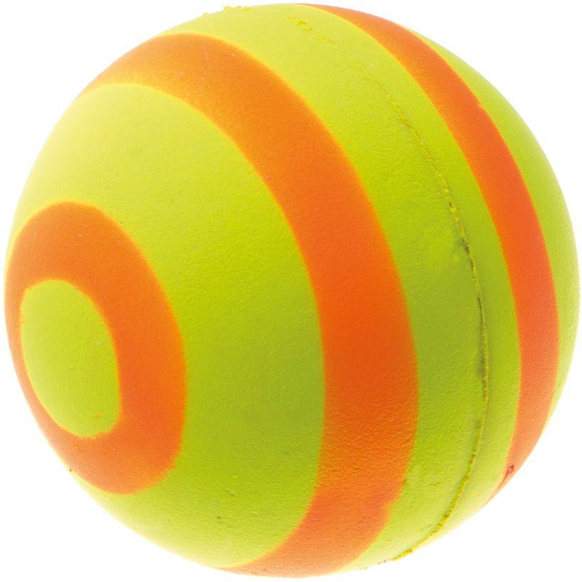 Мяч V.I.Pet Неон, цвет: желтый, оранжевый, 47 мм. 20-110820-1108
