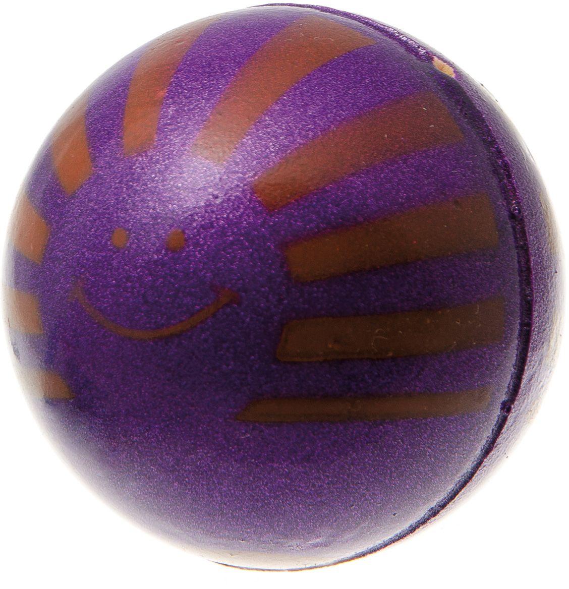 Мяч V.I.Pet Солнце, цвет: фиолетовый, 63 мм. 20-111820-1118