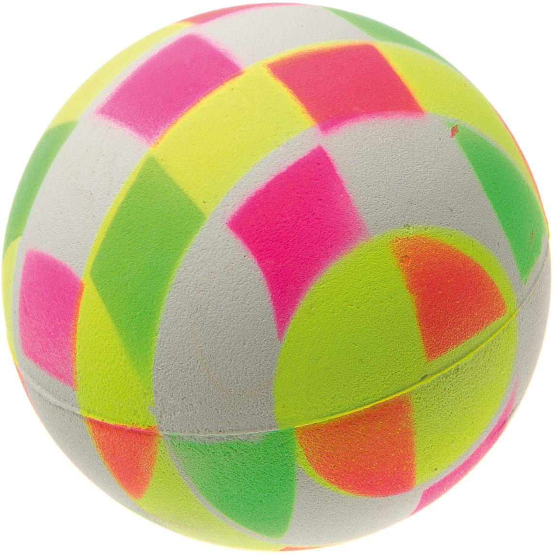 Мяч V.I.Pet Неон, цвет: мультиколор, 63 мм. 20-112020-1120