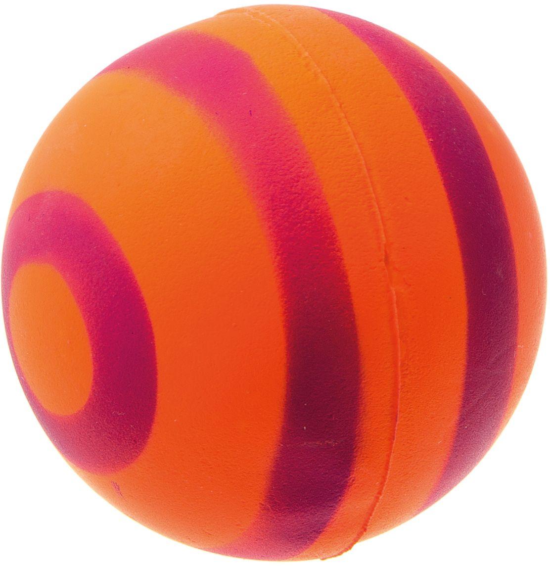 Мяч V.I.Pet Неон, цвет: оранжевый, фиолетовый, 63 мм. 20-112320-1123