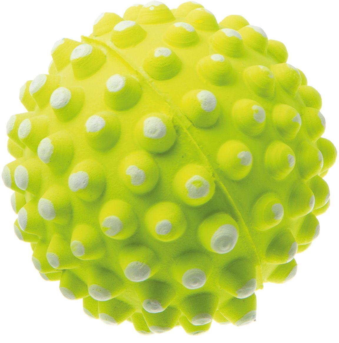 Мяч V.I.Pet Коралл, цвет: желтый, 72 мм. 20-112520-1125